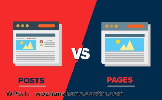 WordPress文章与页面 - 有什么区别
