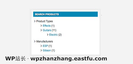 在WordPress侧边栏中显示自定义分类法