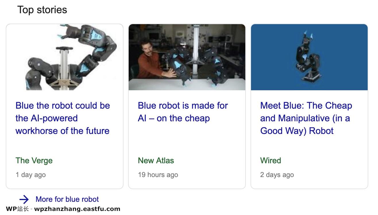 关于Schema、结构化数据和机器人的故事 5