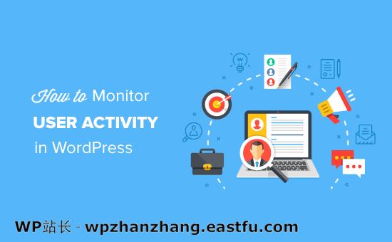 监控WordPress网站中的用户活动