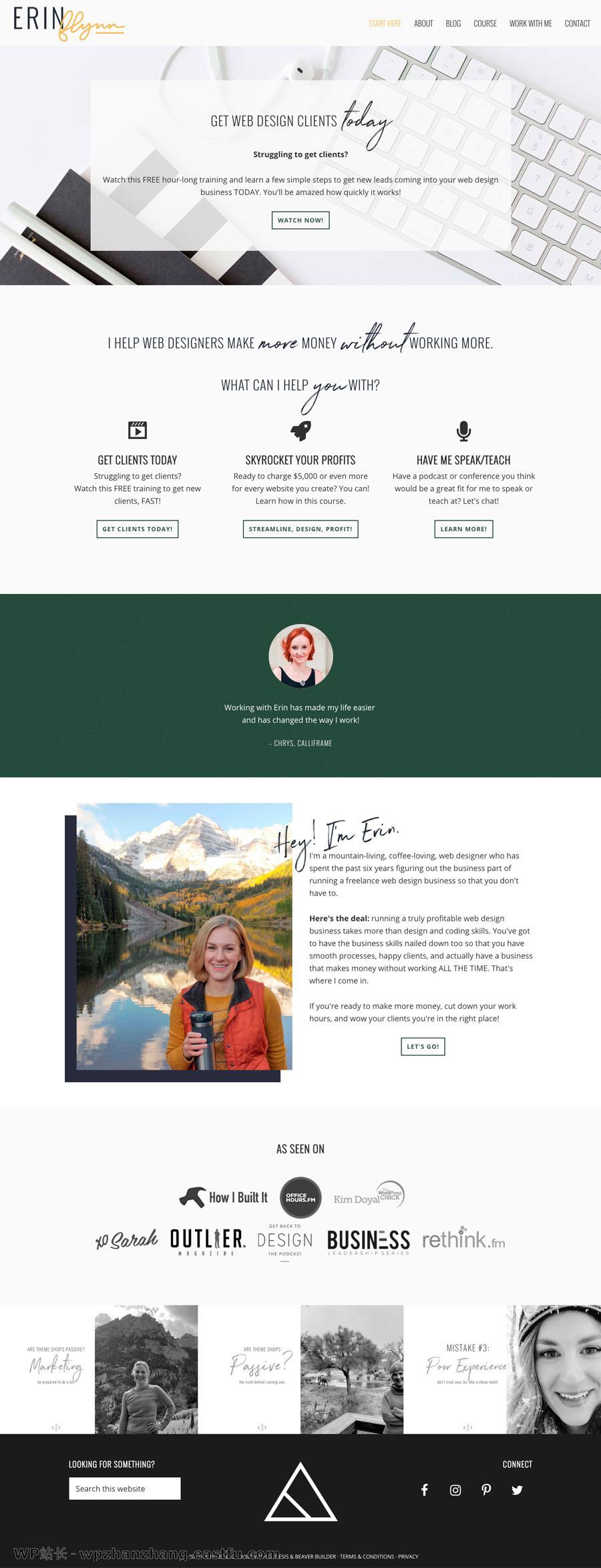 使用Beaver Builder和PowerPack设计的10个美丽网站