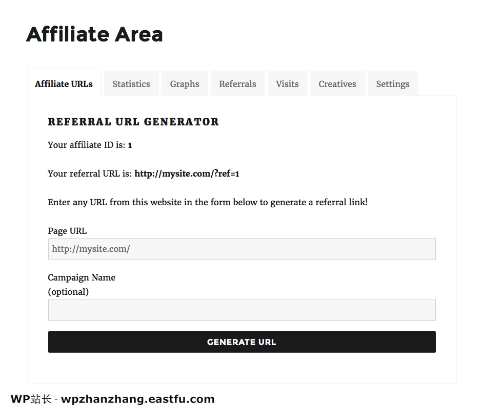 wp会员区域URL设置