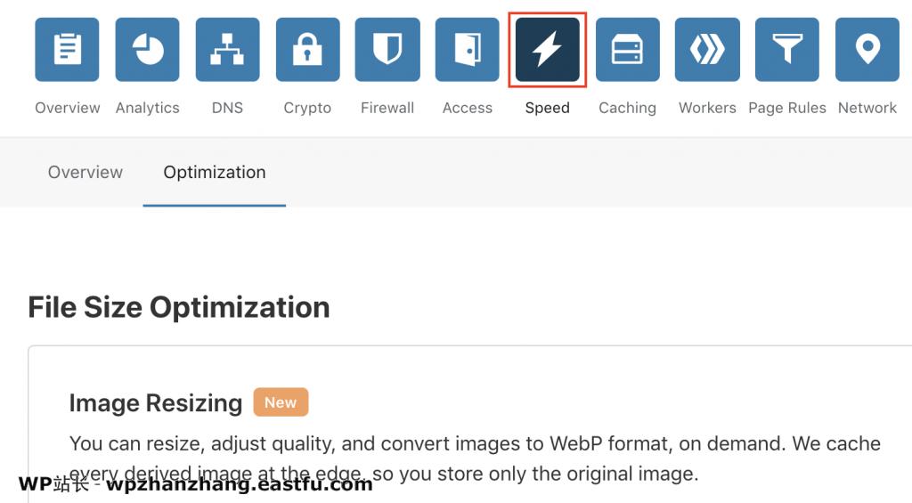 cloudflare-速度标签