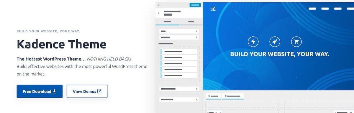 Kadence Theme WordPress主题评测2021
