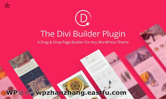 Divi Builder 拖放 WordPress 页面生成器插件