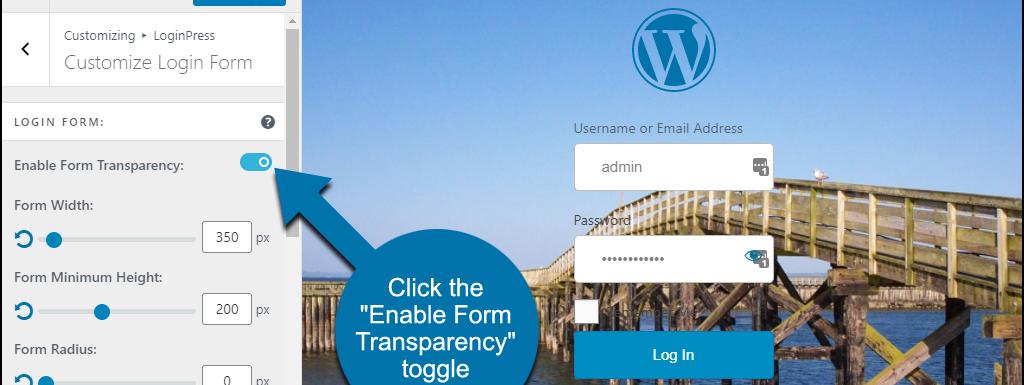 如何使用 LoginPress 创建 WordPress 自定义登录页面