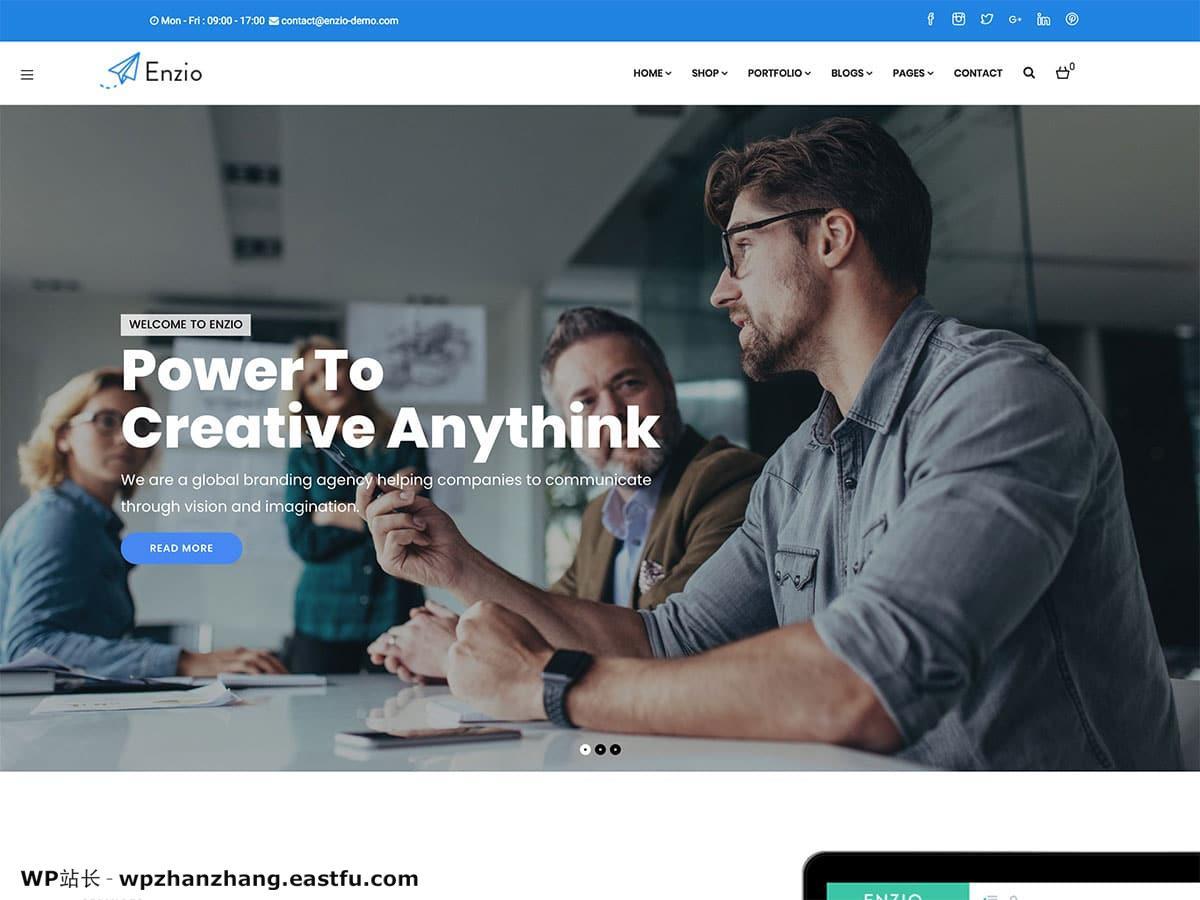 2021年35个最佳WordPress企业主题和商业主题 1