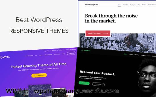 40+个最佳响应式WordPress主题(2021年)