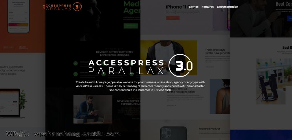 AccessPress 视差主题