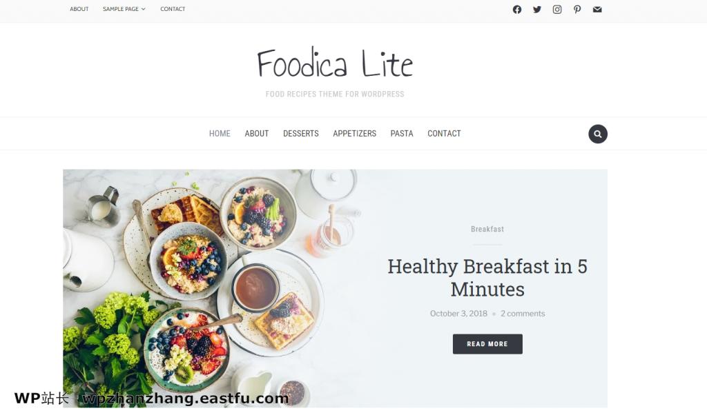 Foodica主题