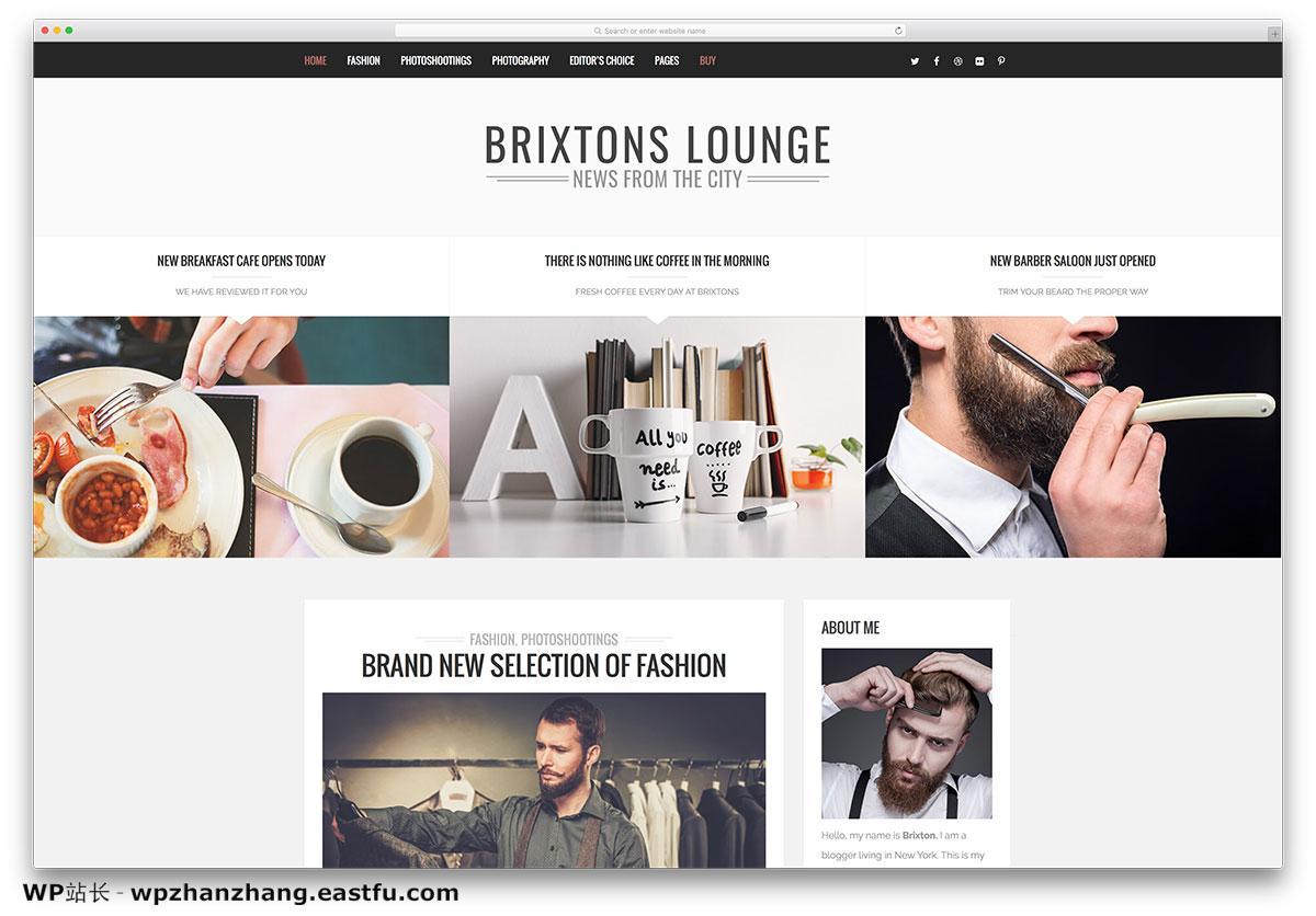 brixton-creative-wordpress-blog-theme