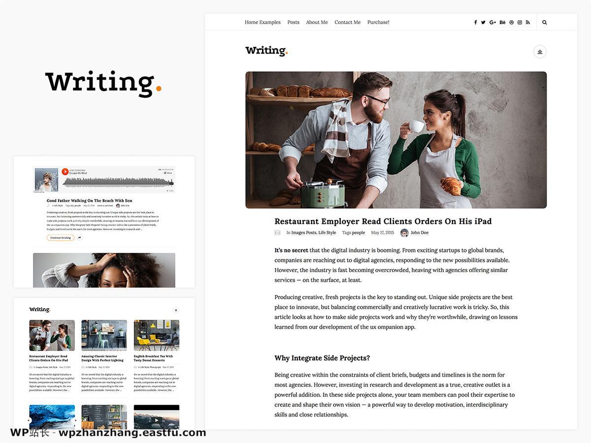 2021年58个最佳个人WordPress博客主题 12