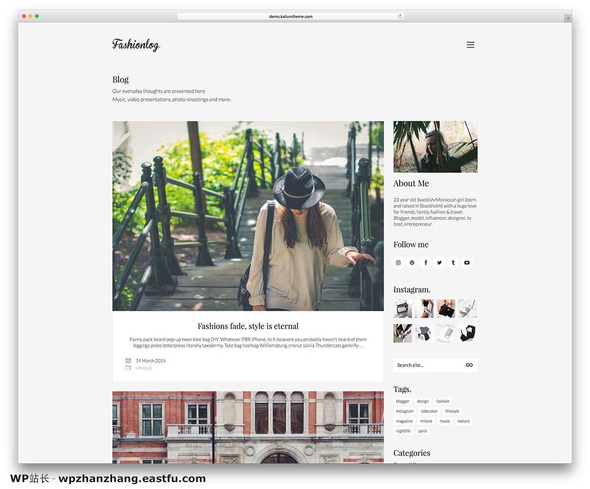 kalium-blog-wordpres-website-template