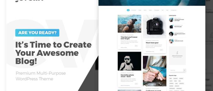 2021年58个最佳个人博客 WordPress 主题