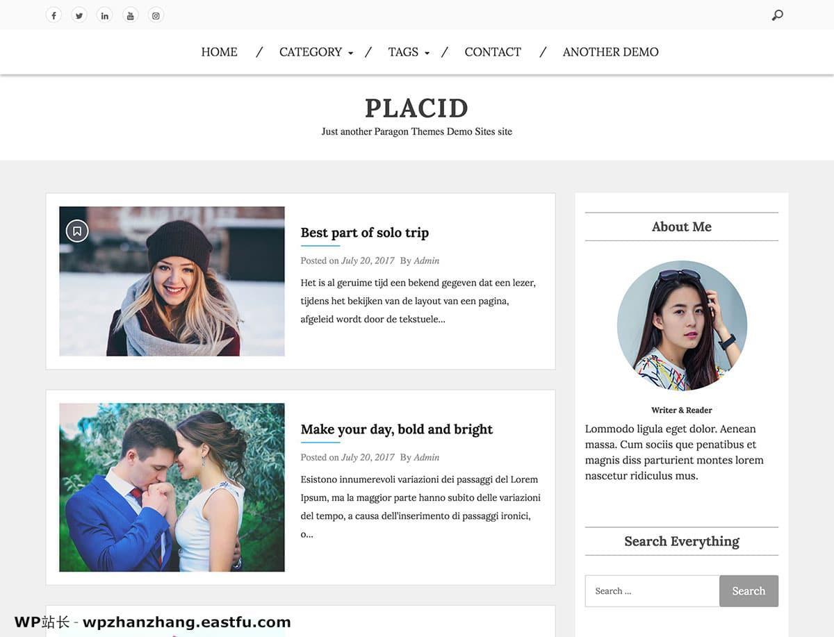 2021 年 35+ 最佳免费 WordPress 博客主题 31
