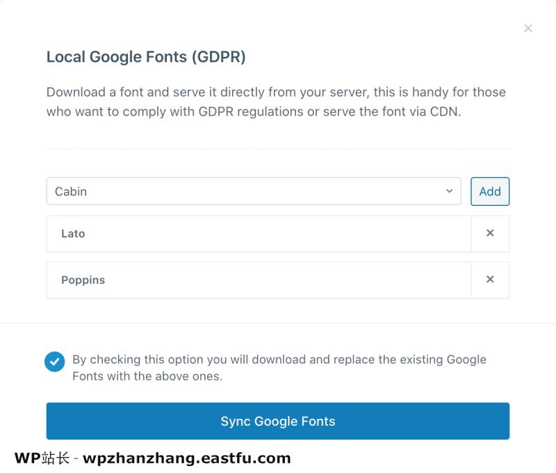 Blocksy Pro 如何启用本地 Google 字体以符合 GDPR