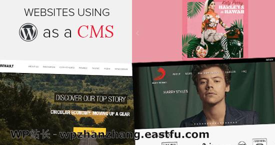 2021 年使用 WordPress 作为 CMS 的 25 个热门网站
